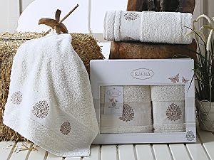 Комплект полотенец Karna Devon, кремовый