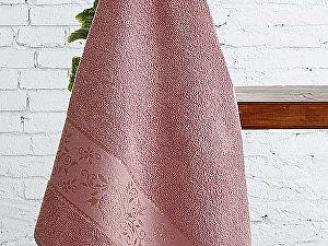 Полотенце Karna Lauren 70х140 см, грязно-розовое