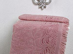 Полотенце Karna Esra 50х90 см, розовое