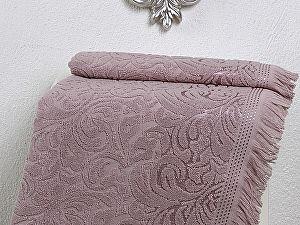 Купить полотенце Karna Esra 70х140 см, грязно-розовое