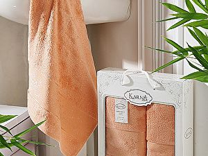 Купить полотенце Karna Pandora, коралловый
