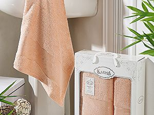 Купить полотенце Karna Pandora, абрикосовый