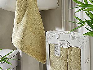Купить полотенце Karna Pandora, золотистый