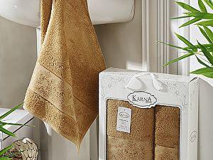 Купить полотенце Karna Pandora, горчичный