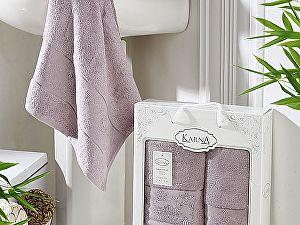 Комплект полотенец Karna Pandora, светло-лаванда