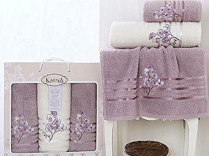 Комплект полотенец Karna Papilon, светло-лаванда арт. 2354/char004