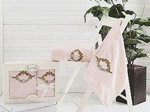Комплект полотенец Karna Karen, светло-абрикосовый