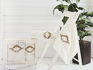 Комплект полотенец Karna Karen, кремовый