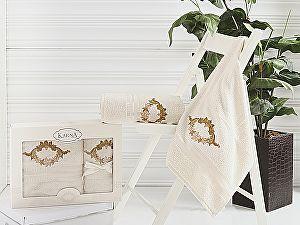 Комплект полотенец Karna Karen, бежевый