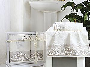 Купить полотенце Karna Beyza, кремовый