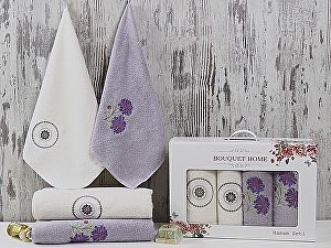 Комплект полотенец Karna Bouquet Home, V2