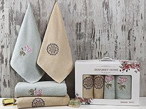 Комплект полотенец Karna Bouquet Home, V5