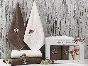 Комплект полотенец Karna Bouquet Home, V1
