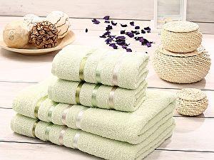 Комплект полотенец Karna Bale, светло-зеленый