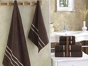Комплект полотенец Karna Bale, коричневый