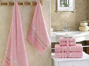 Комплект полотенец Karna Bale, розовый