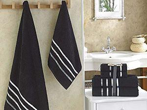 Комплект полотенец Karna Bale, черный