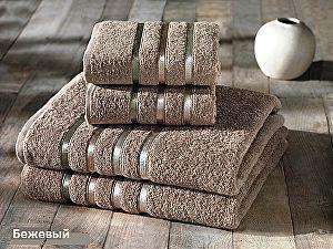 Комплект полотенец Karna Bale, кофейный