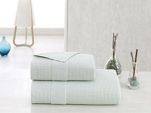 Купить полотенце Karna Truva 50х100 см, зелёное