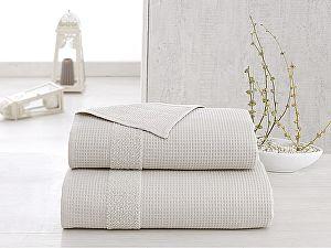 Купить полотенце Karna Truva 70х140 см, бежевое
