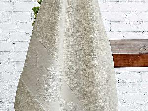 Полотенце Karna Dora 50х90 см, кремовое