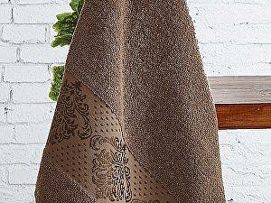 Полотенце Karna Dora 50х90 см, коричневое