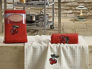 Купить полотенце Karna Lemon V2 45x65 см, красный