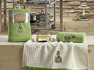 Купить полотенце Karna Lemon V3 45x65, зеленый