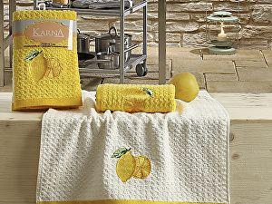 Купить полотенце Karna Lemon V1 45x65 см, желтый