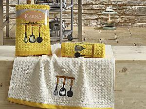 Купить полотенце Karna Lemon V2 45x65 см, желтый