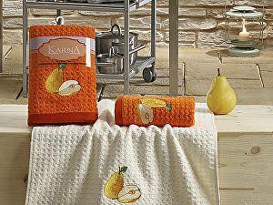 Купить полотенце Karna Lemon V3 45x65 см, оранжевый