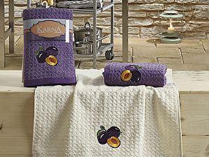 Купить полотенце Karna Lemon V3 45x65 см, сиреневый