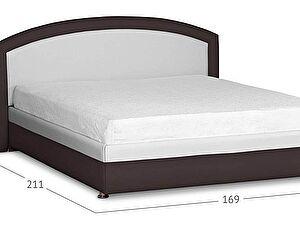 Кровать Moon Trade Мирабель Модель 379 Молоко+Кофе с подъемным механизмом