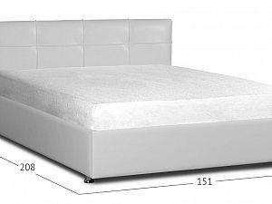 Кровать Moon Trade Птичье гнездо Модель 381 Марципан с основанием