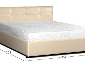 Кровать Moon Trade Птичье гнездо Модель 381 Суфле с основанием
