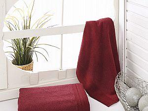 Купить полотенце Sofi De Marko Venar 70х140 см, бордовое