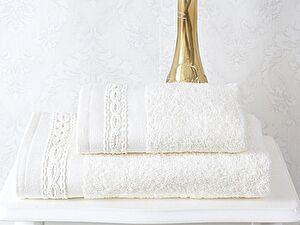 Набор из 2-х полотенец Sofi De Marko Nelsi, светло-кремовый