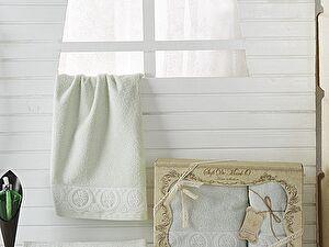 Комплект полотенец DONNA (ментол)