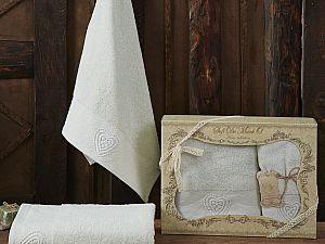 Комплект полотенец AMANDA (ментол)