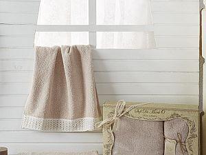 Комплект полотенец MISSI (пудра)