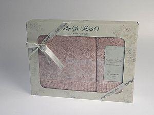 Комплект полотенец MARIA (пудра)
