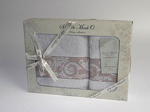 Комплект полотенец MARIA (бел)