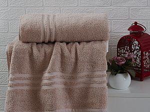 Купить полотенце Sofi De Marko Sila 70х140 см, пудра