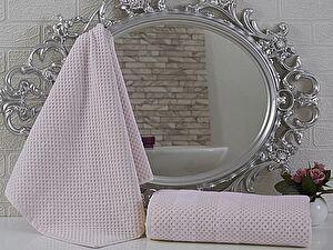 Купить полотенце Sofi De Marko Violeta 70х140 см, пудра