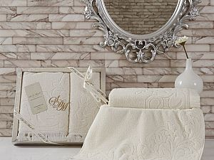Комплект полотенец RAKELA (крем)