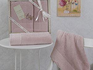 Комплект полотенец KARINA (пудра)
