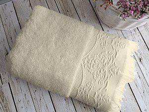 Купить полотенце Sofi De Marko Feronia 70х130 см, кремовое