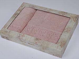 Комплект полотенец ALLEGRA (крем)