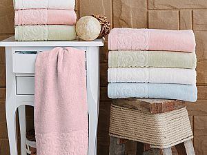 Купить полотенце Sofi De Marko Tiffany 70х130 см, абрикосовое