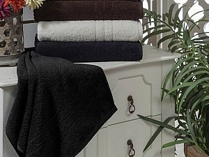Полотенце Sofi De Marko Ares 70х140 см, черное